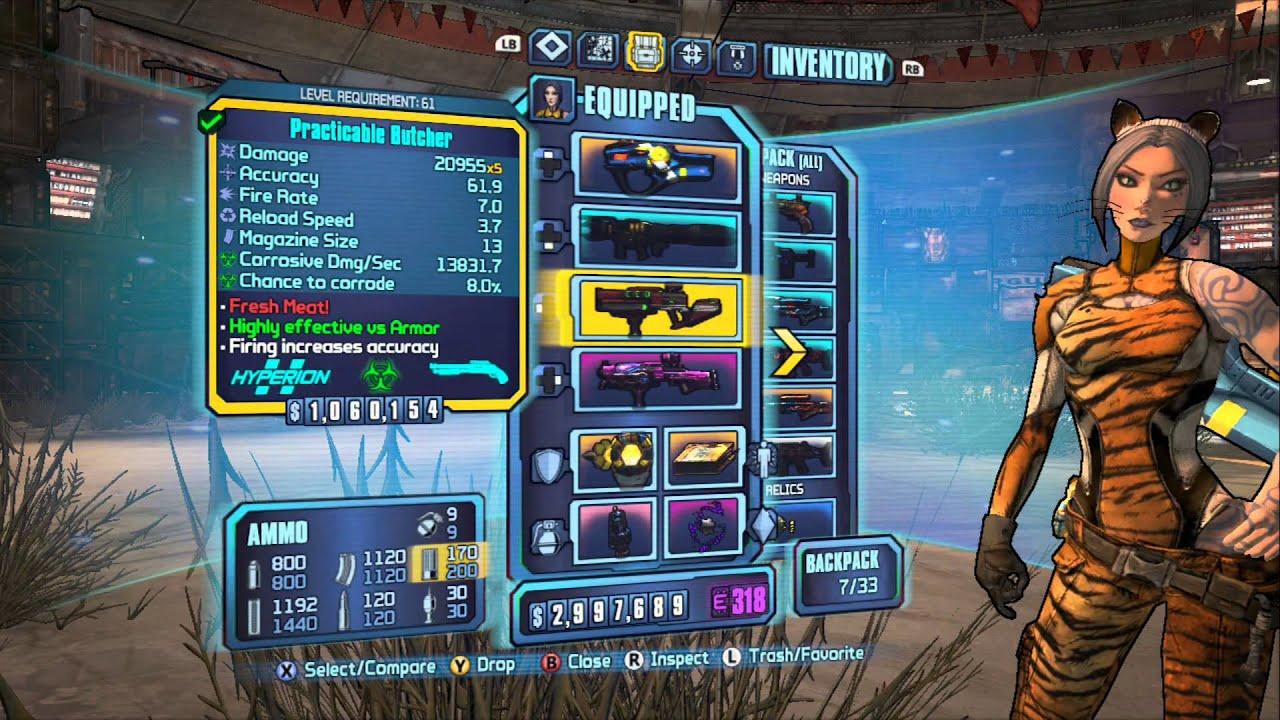 Borderlands 2 - Cataclysm/Motion Lv 61 Siren Build: Face-melting  Extravaganza!