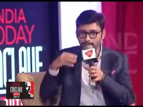 RJ Balaji BIG SLAP TO NORTH INDIAN MEDIA *MUST WATCH*