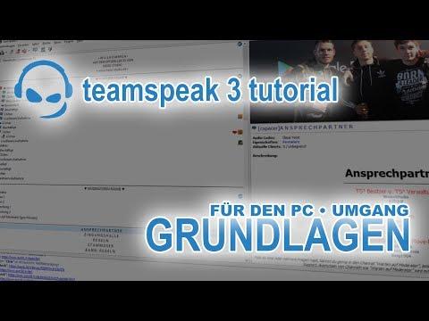 TeamSpeak 3 Anleitung Grundlagen | Deutsch PC | TeamSpeak-Tutorial #01