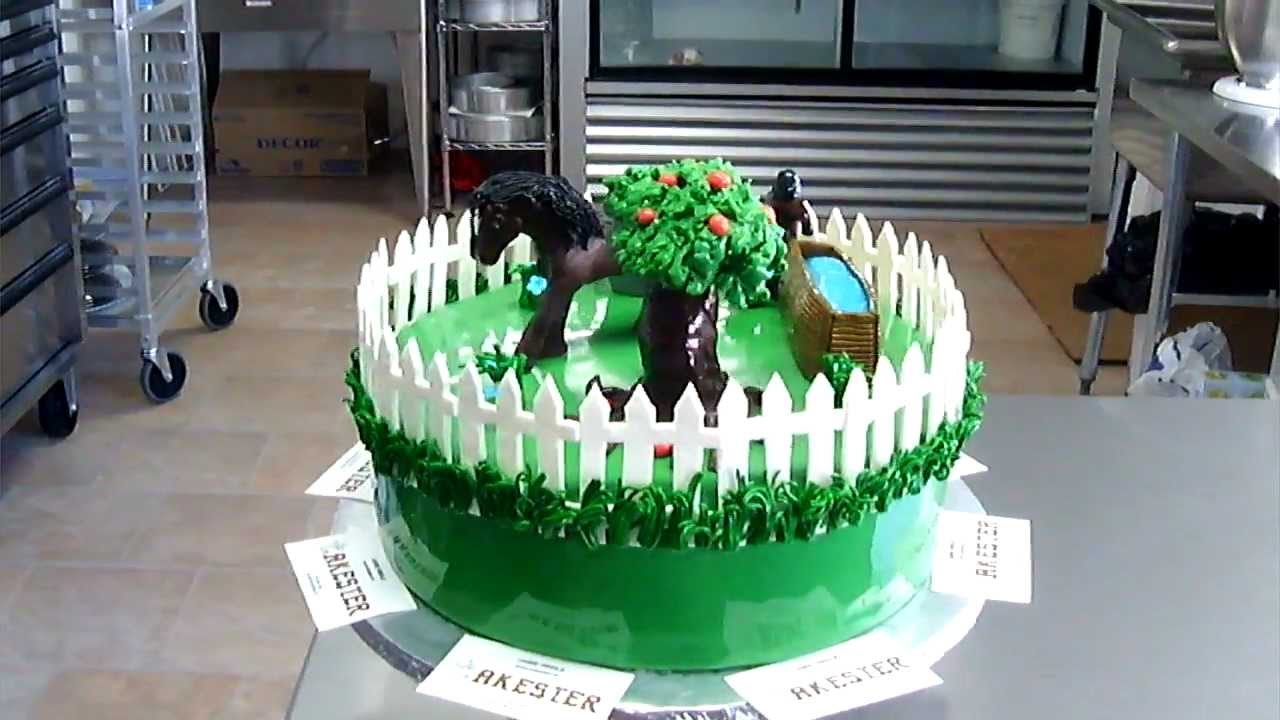 HORSE THEME CAKE YouTube