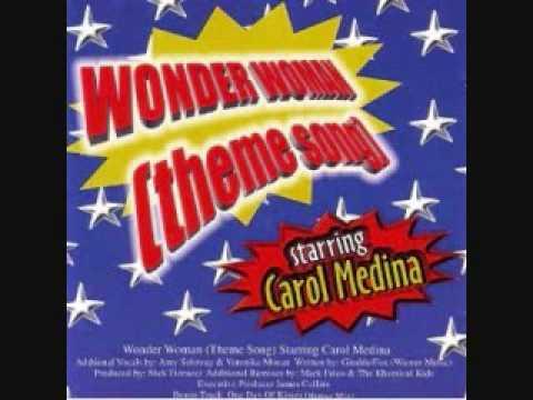 Wonder Woman Theme Song (E Candy's Club Edit) - Carol Medina