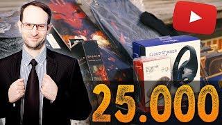25.000 Abonnenten Special: Großes Gewinnspiel, fette Preise!