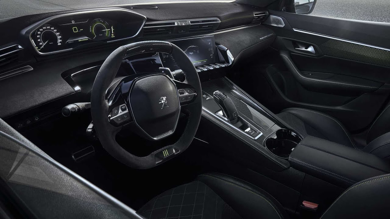 Garage Peugeot Meudon Concept 508 Peugeot Sport Engineered Interior Footage