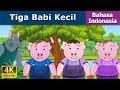 Tiga Babi Kecil - Cerita Untuk Anak-anak - Animasi Kartun - 4k - Indonesian Fairy Tales video