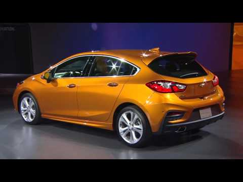 2017 Cruze Hatch & Bolt EV Reveal: North American International Auto Show | Chevrolet