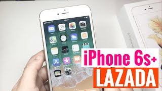 Gambar cover iPhone 6s Plus Unboxing from LAZADA | Tagalog