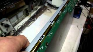 Ремонт Монитора LG W2346S Выключается подсветка отгорел холодный конец