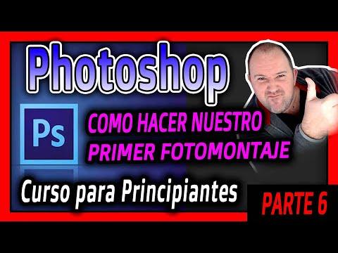 Adobe Photoshop 6º Nuestro Primer Fotomontaje