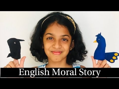 English Moral story telling competition, First prize winning performance by Niya Shetty
