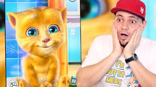 KOLEGA MY TALKING TOM'A 🙀 My Talking Ginger