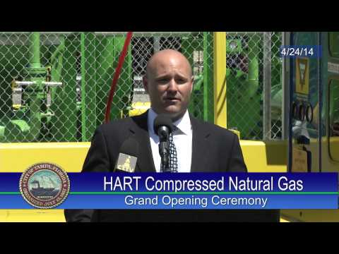 HART Compressed Natural Gas (CNG) Fueling Station Ribbon Cutting