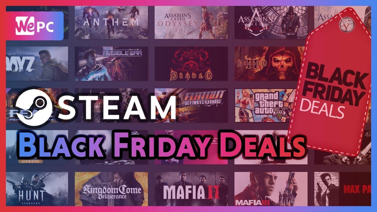 Steam Store Black Friday Deals 2019 - WePC com