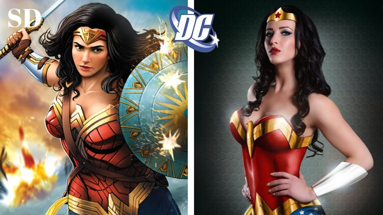 Dc Female Characters In Real Life | Perfect Cosplay |
