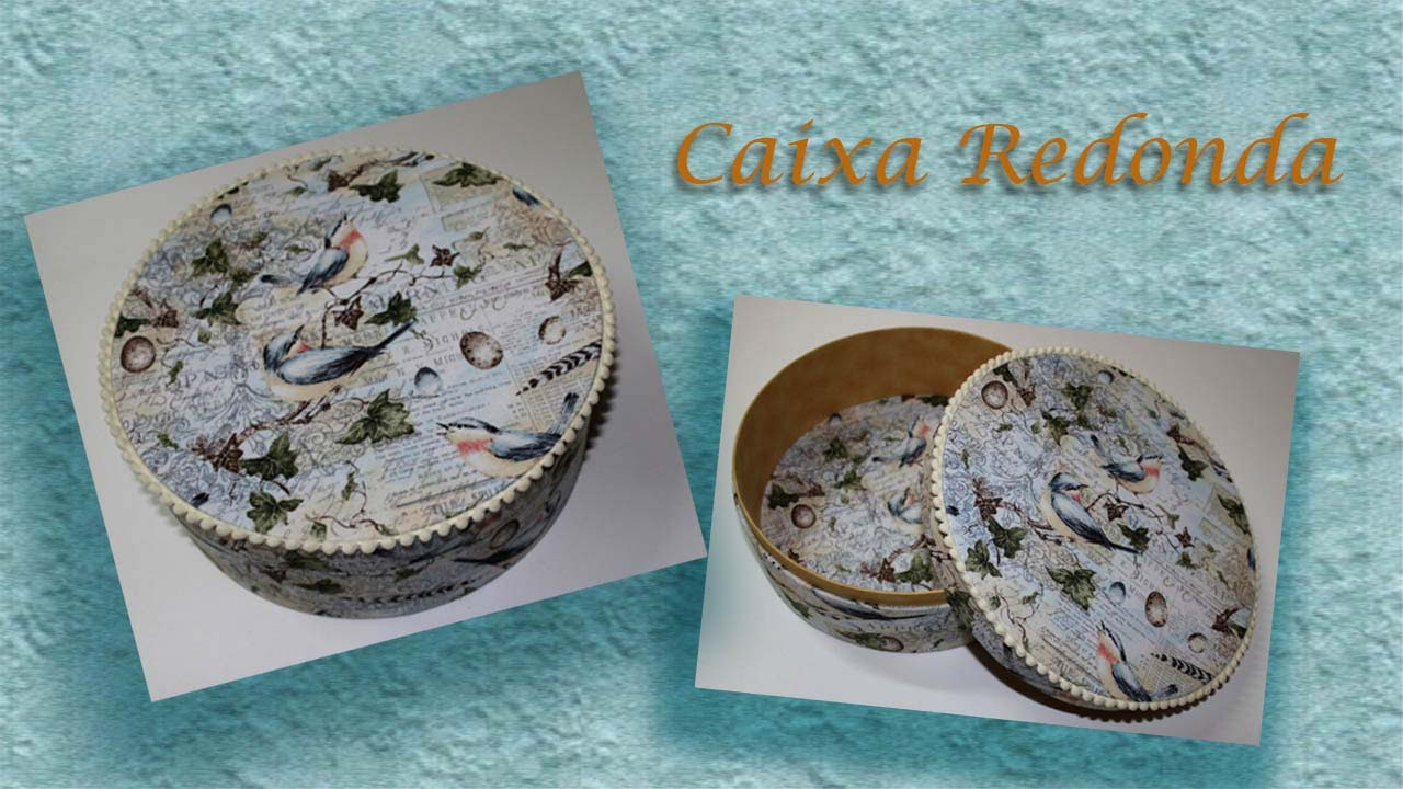 Download CAIXA REDONDA PARA EMBALAGEM   PARTE 02