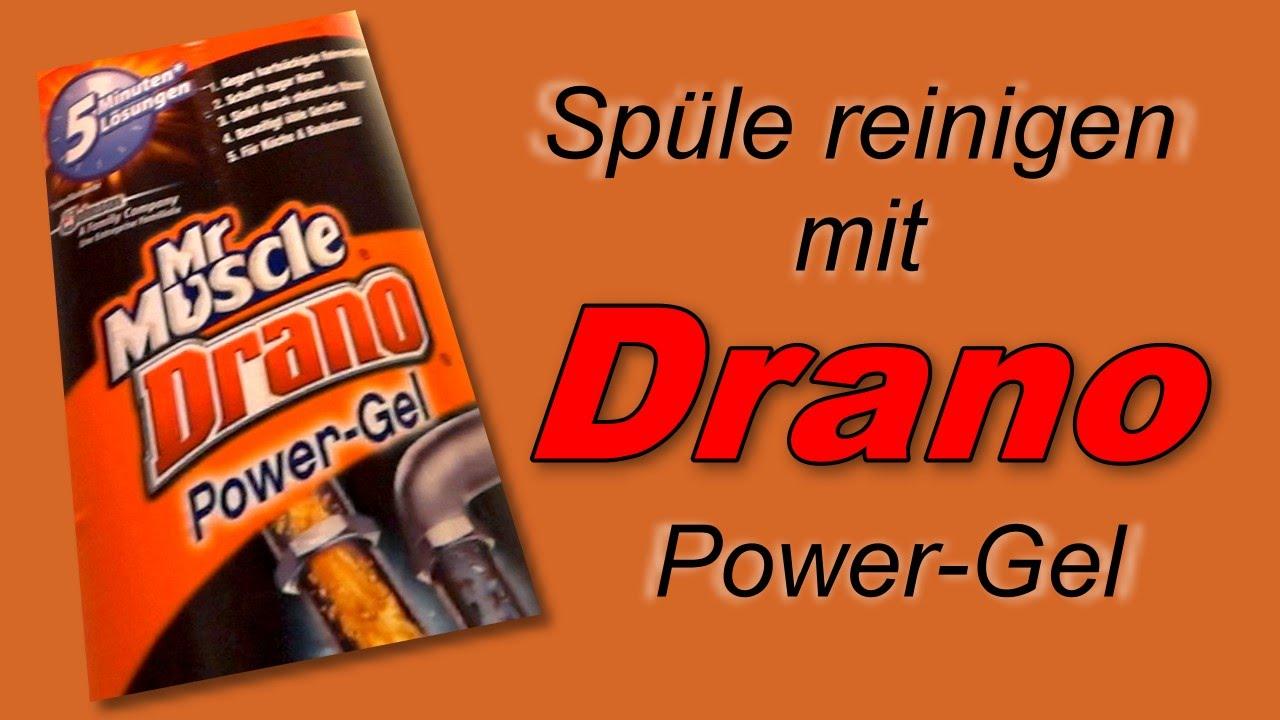 Haushaltstipp: Mit Drano Power-Gel die Küchenspüle reinigen - YouTube
