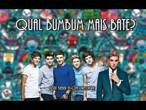 Qual Bumbum Mais Bate? - Justin Bieber ft. One Direction