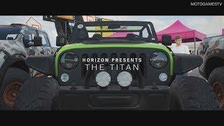 Forza Horizon 4 - The Titan Gameplay - Cross Country Champion