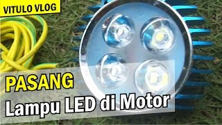 Video Cara Pasang Lampu LED / Cree di Motor | Dharmasraya download MP3, 3GP, MP4, WEBM, AVI, FLV November 2018