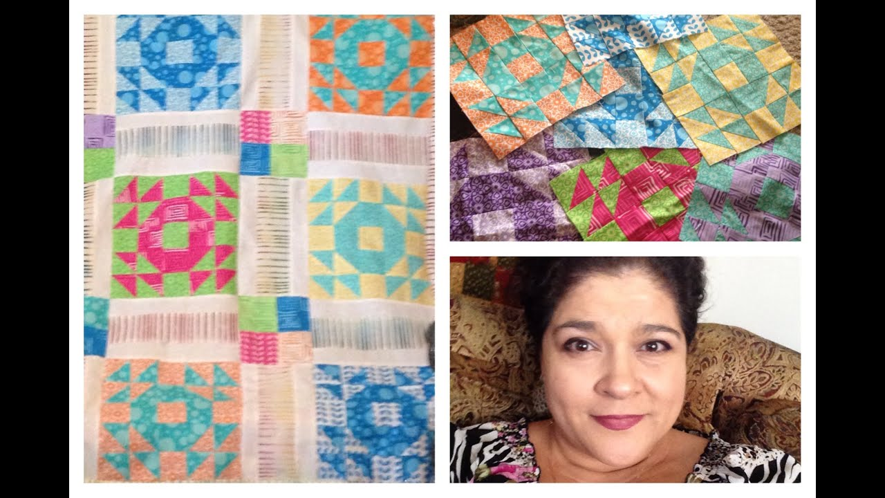 Crown Of Thorns Quilt Block Tutorial For Beginners Youtube