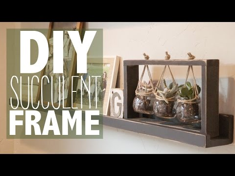 DIY Succulent Frame (Under $10!)   Shanty2Chic<a href='/yt-w/GHbjA7epRwI/diy-succulent-frame-under-10-shanty2chic.html' target='_blank' title='Play' onclick='reloadPage();'>   <span class='button' style='color: #fff'> Watch Video</a></span>