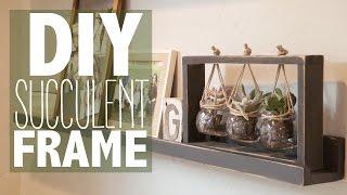 DIY Succulent Frame (Under $10!)   Shanty2Chic