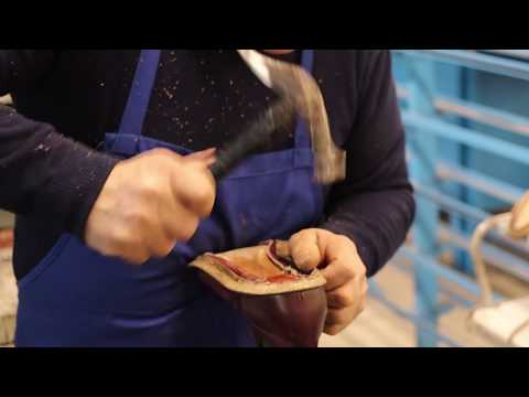A Glimpse into Making Ace Marks' Handcrafted Italian Leather Dress Shoes