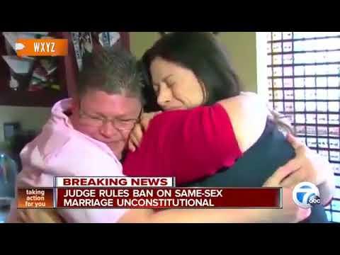 Federal Judge Strikes Down Michigan's Same-Sex Marriage Ban