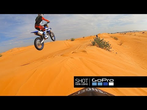 Эндуро по дюнам пустыни Дубая ОАЭ. Enduro in Dubai desert