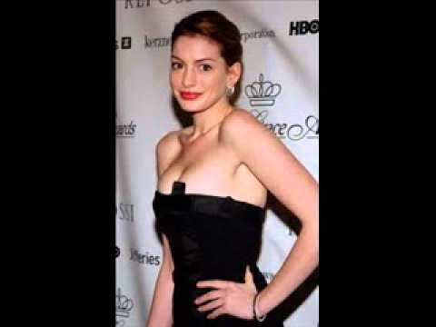 anne hathaway PUSH UP DRESS NIPPLES SLIP thumbnail