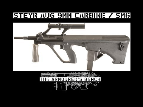Submachine Gun – The Armourers Bench