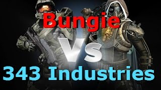 Bungie vs 343i  is halo 5 guardians better than destiny?which company is better?