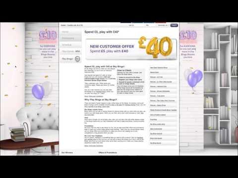 Review Of Sky Bingo Login Website