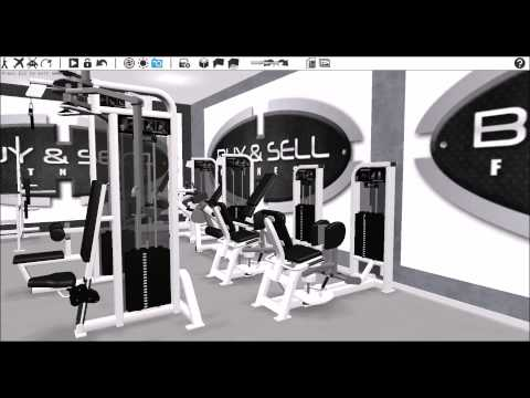 Life Fitness Personal Training Studio /Small Gym Package