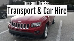 Orlando Transport & Car Hire - Tips and Hints
