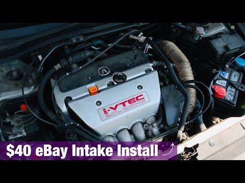 Acura RSX Short Ram Intake Install