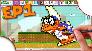 Super Mario World Remade & Remixed in Super Mario Maker - EP1