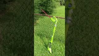 Greenworks Pole hegde trimmer