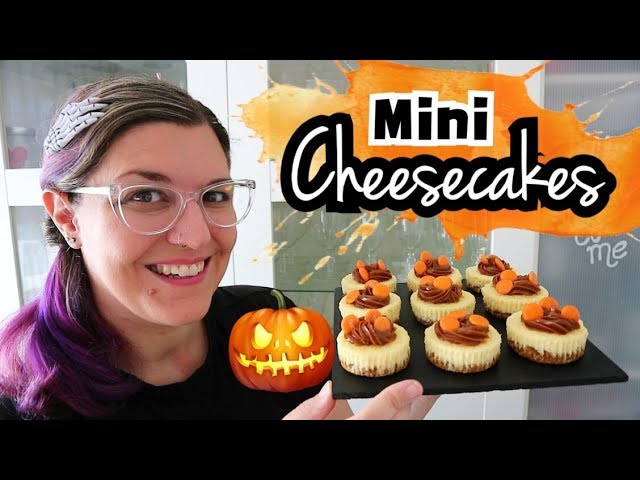 MINI CHEESECAKES | Mini Postres Fáciles y Rápidos | RECETAS HALLOWEEN