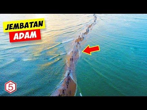 Jembatan Nabi ADAM, Jembatan Tertua Di Dunia Yang Membelah Lautan