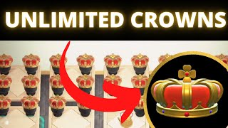 UNLIMITED CROWNS  Get ROYAL CROWNS in Animal Crossing New Horizons  ACNH Duplication Glitch