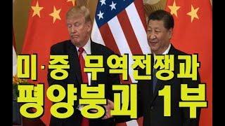 [세뇌탈출] 58탄 - 미·중 무역전쟁과 평양붕괴 1부(7월 11일)