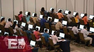 Suspende evaluación docente en Acapulco, Guerrero, por falta de equipos de cómputo /Héctor Figueroa