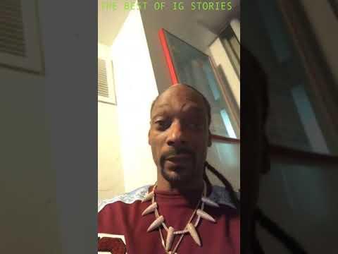 Snoop Dogg Instagram Stories 05 November 2018 Youtube 20 октября 1971), более известный как снуп догг (англ. snoop dogg instagram stories 05