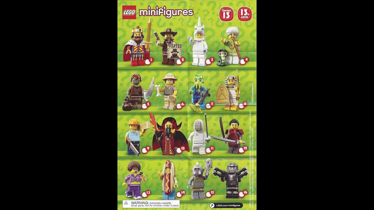 lego minifigures series 13 - photo #19