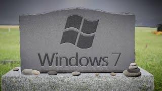 Adios Windows 7, fuiste un buen sistema operativo. Sin soporte a partir de hoy.