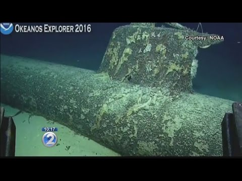 NOAA explores WWII Japanese mini-submarines near Pearl Harbor