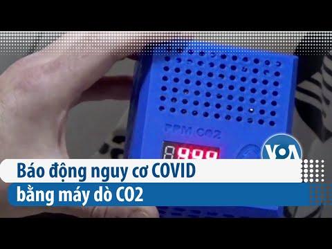 Báo động nguy cơ COVID bằng máy dò CO2 | VOA