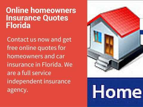 Homeowners insurance rates florida youtube Homeowners insurance florida