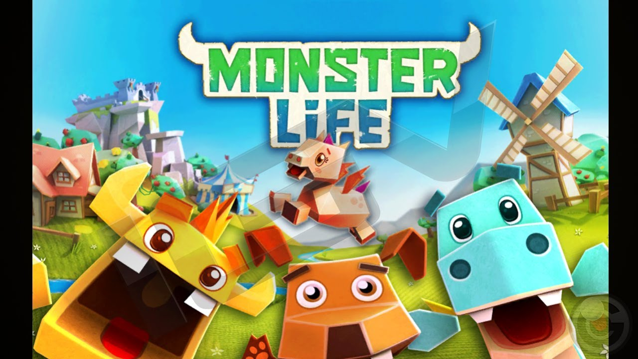 Monster Life - Collect and battle cute mini monsters ! - iPhone & iPad  Gameplay Video