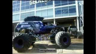 Monster Jam 2012, Trucks outside the Gelredome Stadium (September 23rd 2012)(Netherlands)